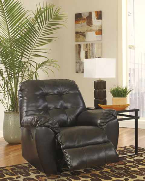 Cheap Furniture Delivered: Alliston Durablend-Chocolate Sofa (Same Or Next Day