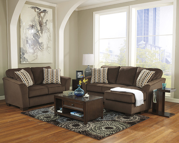 Geordie Cafe Sofa Chaise By Ashley Marjen Of Chicago Chicago Discount Furniture