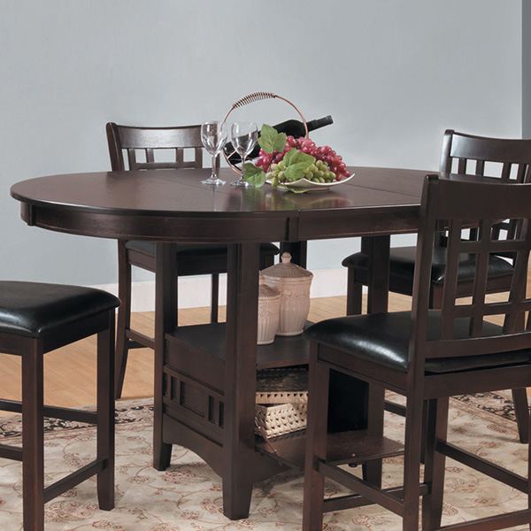 36 Dining Table Set: Homelegance 2423-36 Junipero Counter Height Dining Table