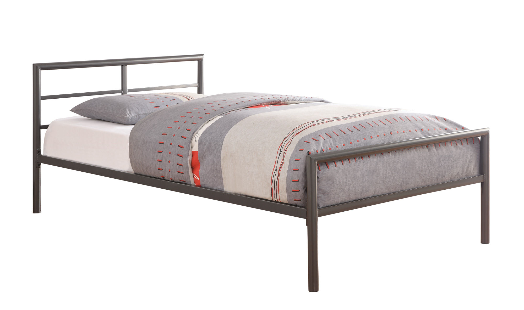 Cheap daybed frame cheap headboard zinus quick lock twin for Cheap twin bed frames