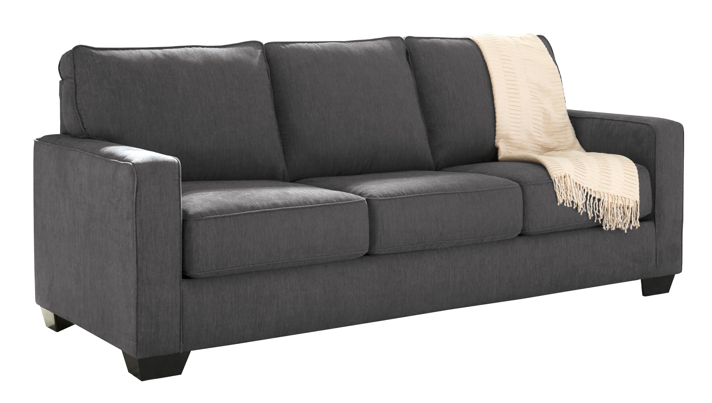 Zeb Charcoal Queen Sofa Sleeper Marjen Of Chicago