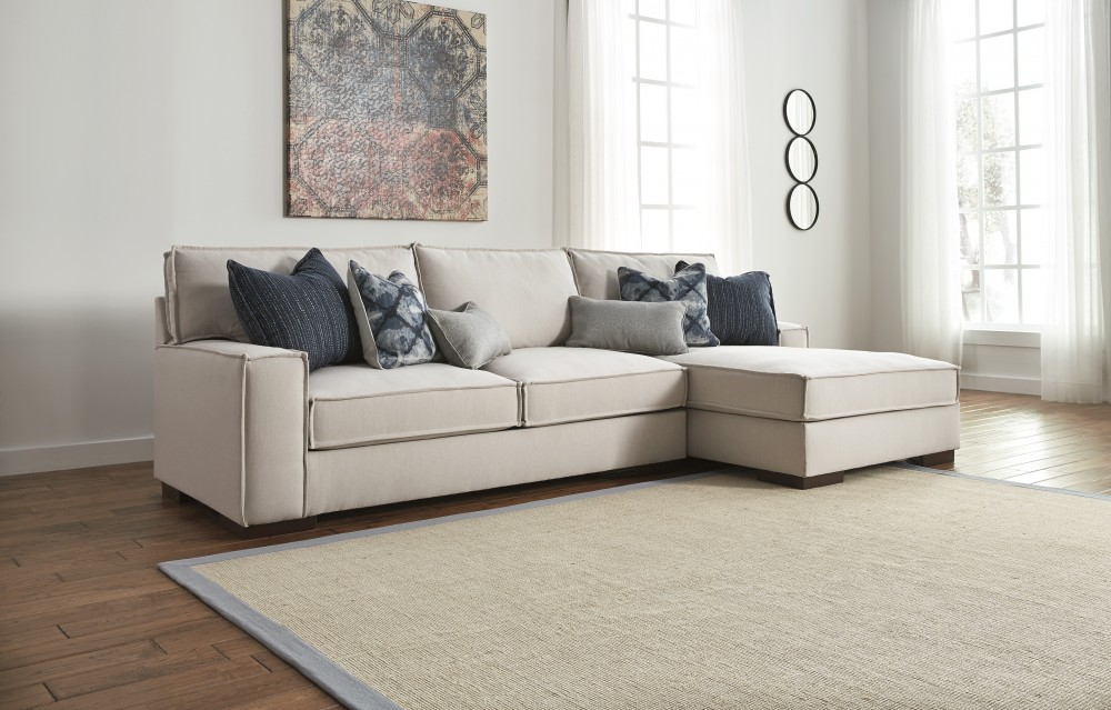 Kendleton Left Or Right Arm Facing Stone Sectional Free
