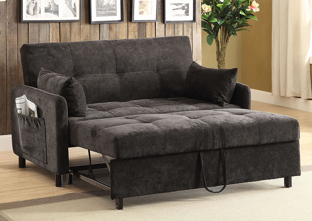 Dark Brown Sofa Bed Marjen Of Chicago Chicago Discount