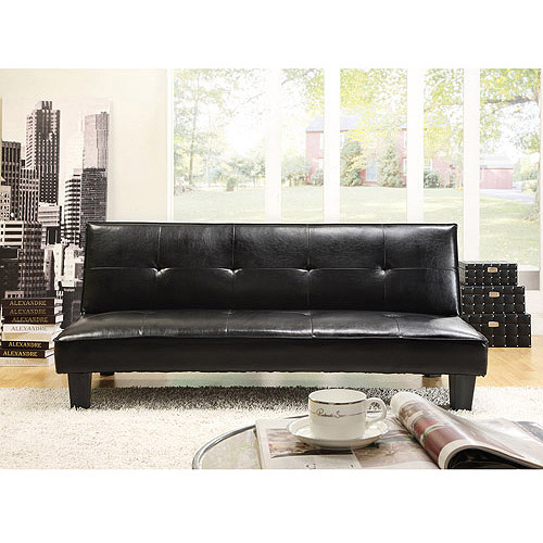 Cheap Faux Leather Sofa: Faux Leather Sofa Bed Lounger (CLEARANCE SALE)