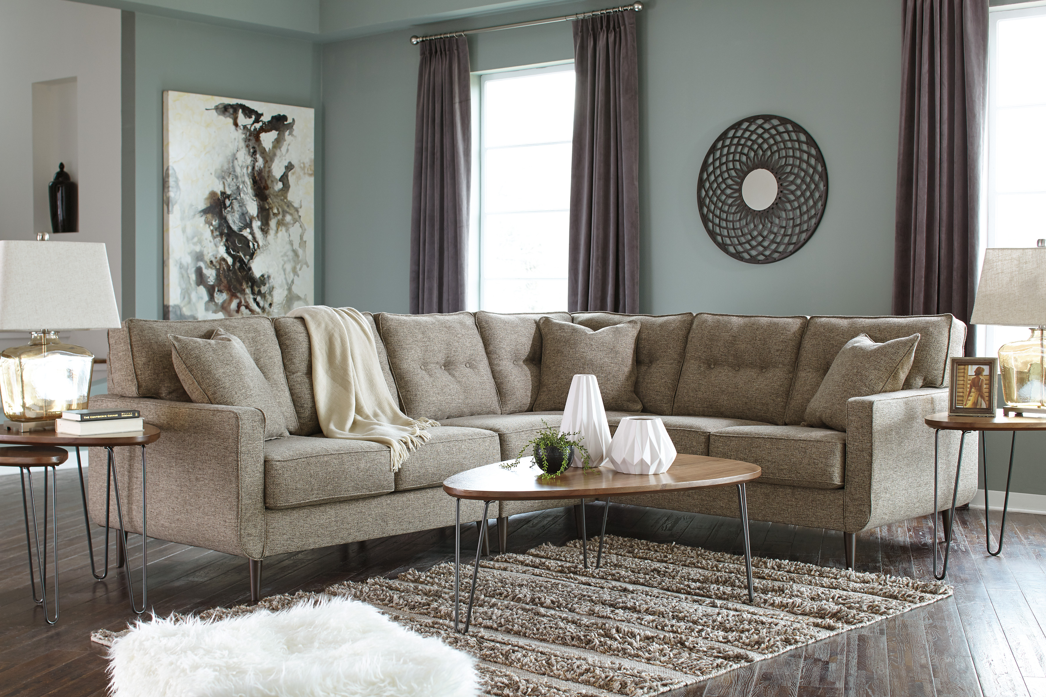 Fabric Sectionals Marjen of Chicago