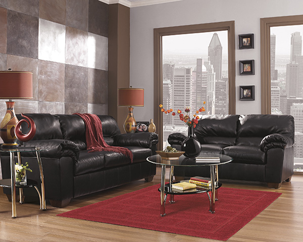 Ashley Furniture Commando Black Sofa Price Reduced