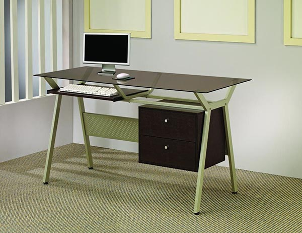 office desk w two drawers marjen of chicago chicago discount