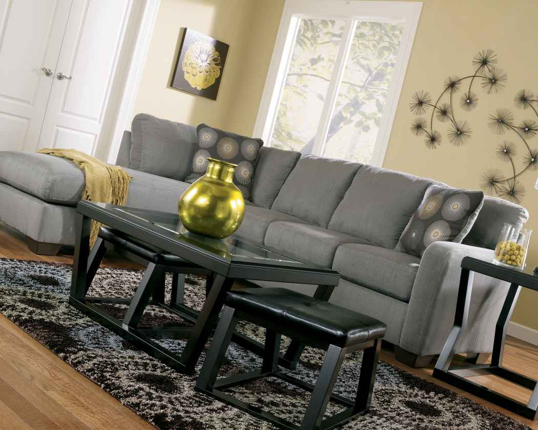 Zella Charcoal Sectional Special Sale Price Immediate