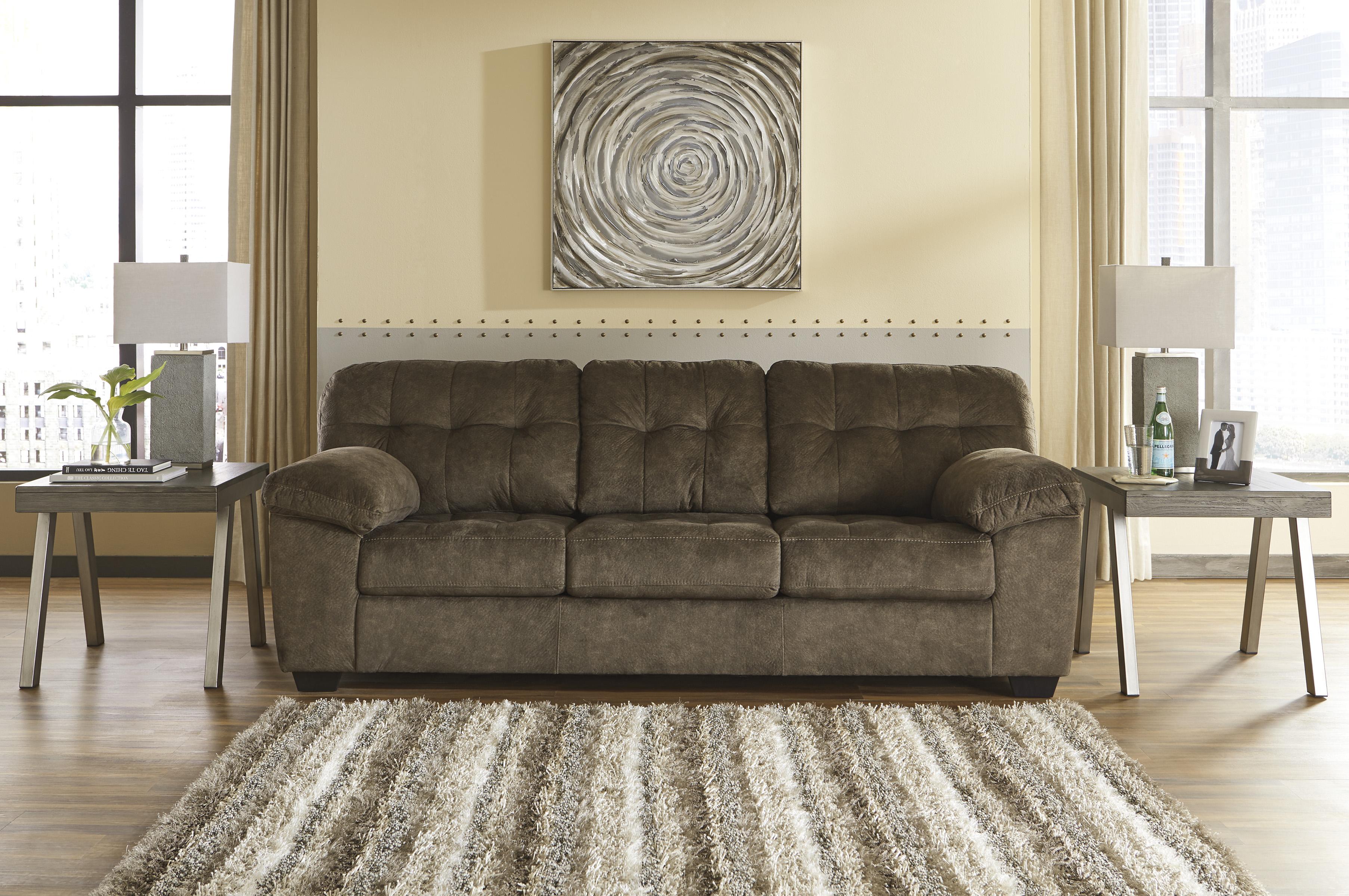 Accrington Earth Queen Sofa Sleeper Easy To Lift Mechanism
