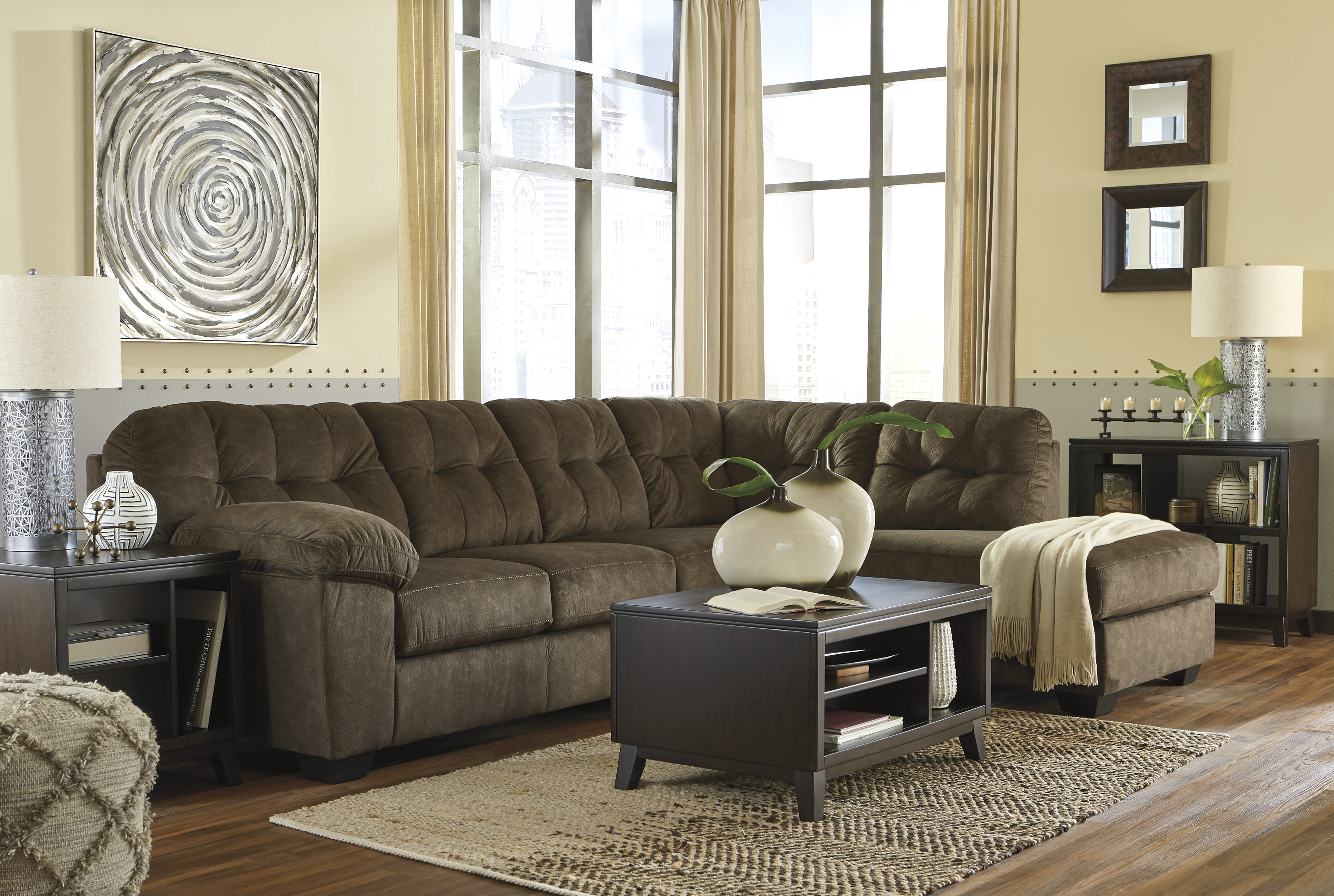 accrington earth sectional with right or left arm facing sofa