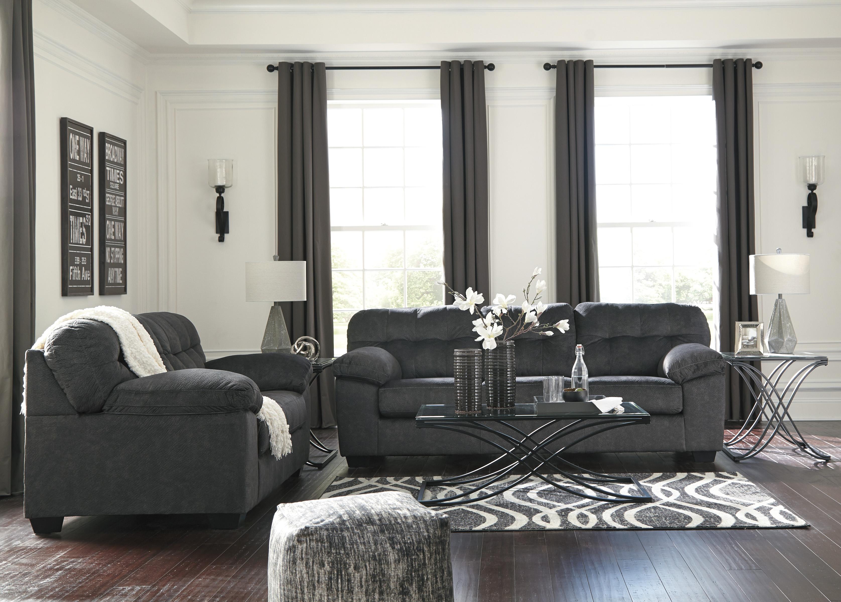 Accrington Granite Living Room Set Sofa And Loveseat