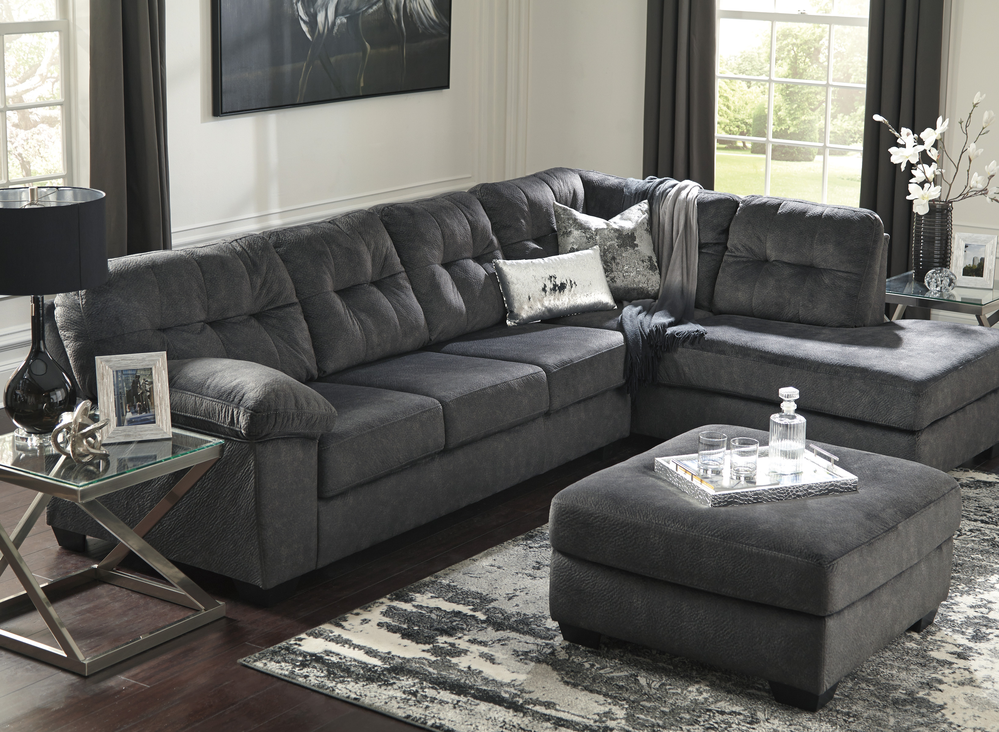Accrington Granite Right Or Left Arm Facing Sectional Sofa