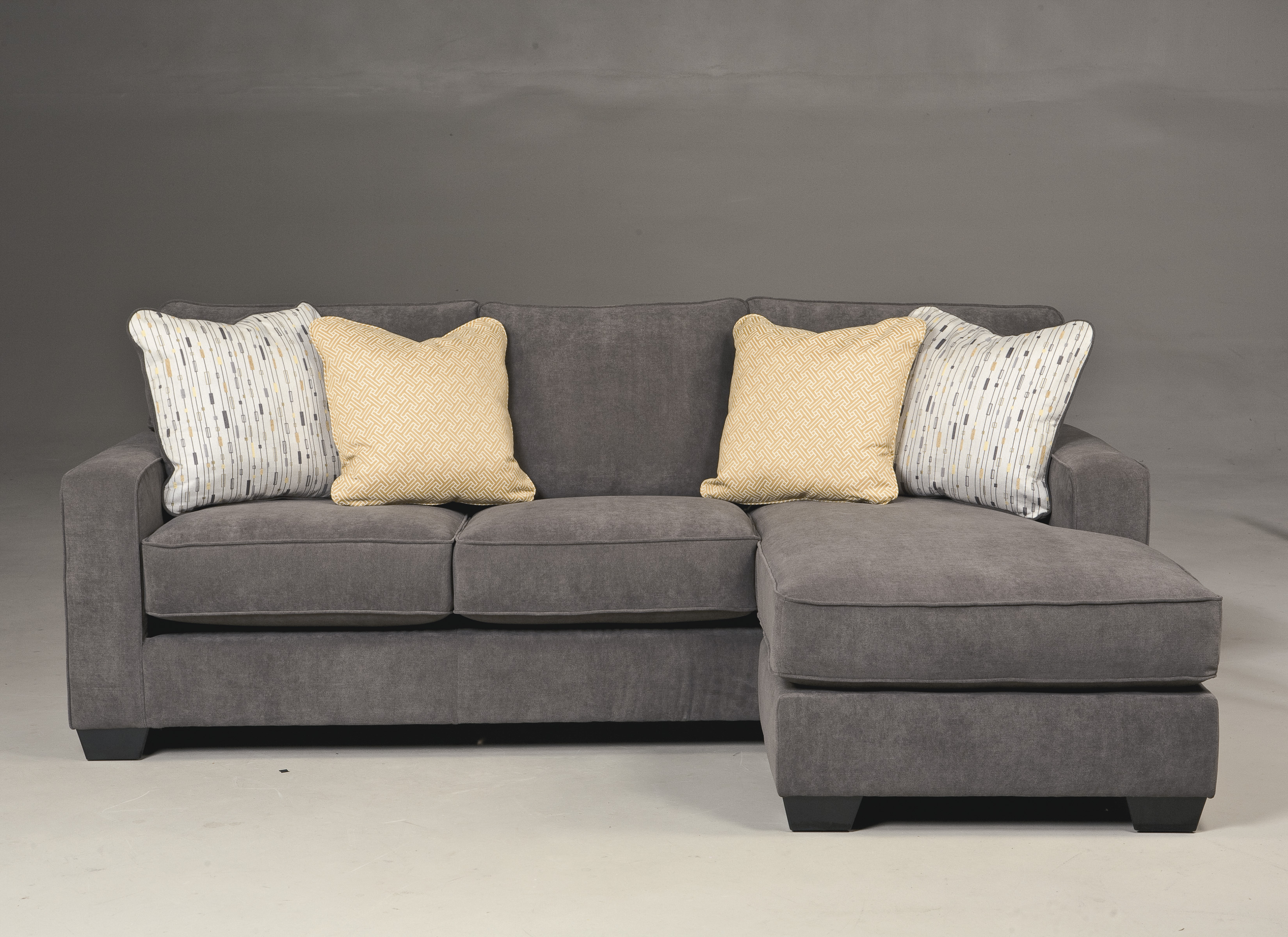 hodan marble sofa with chaise  marjen of chicago