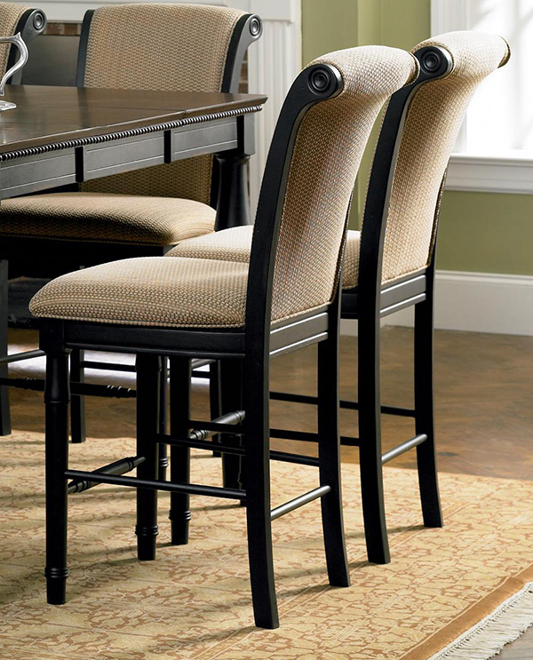 This Beautiful Counter Height Dining Table And Chair Set Will Add A  Sophisticated Style To Your Casual Dining Or Entertainment Space.