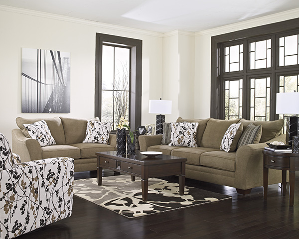 Mykla Shitake Sofa By Signature Design Marjen Of