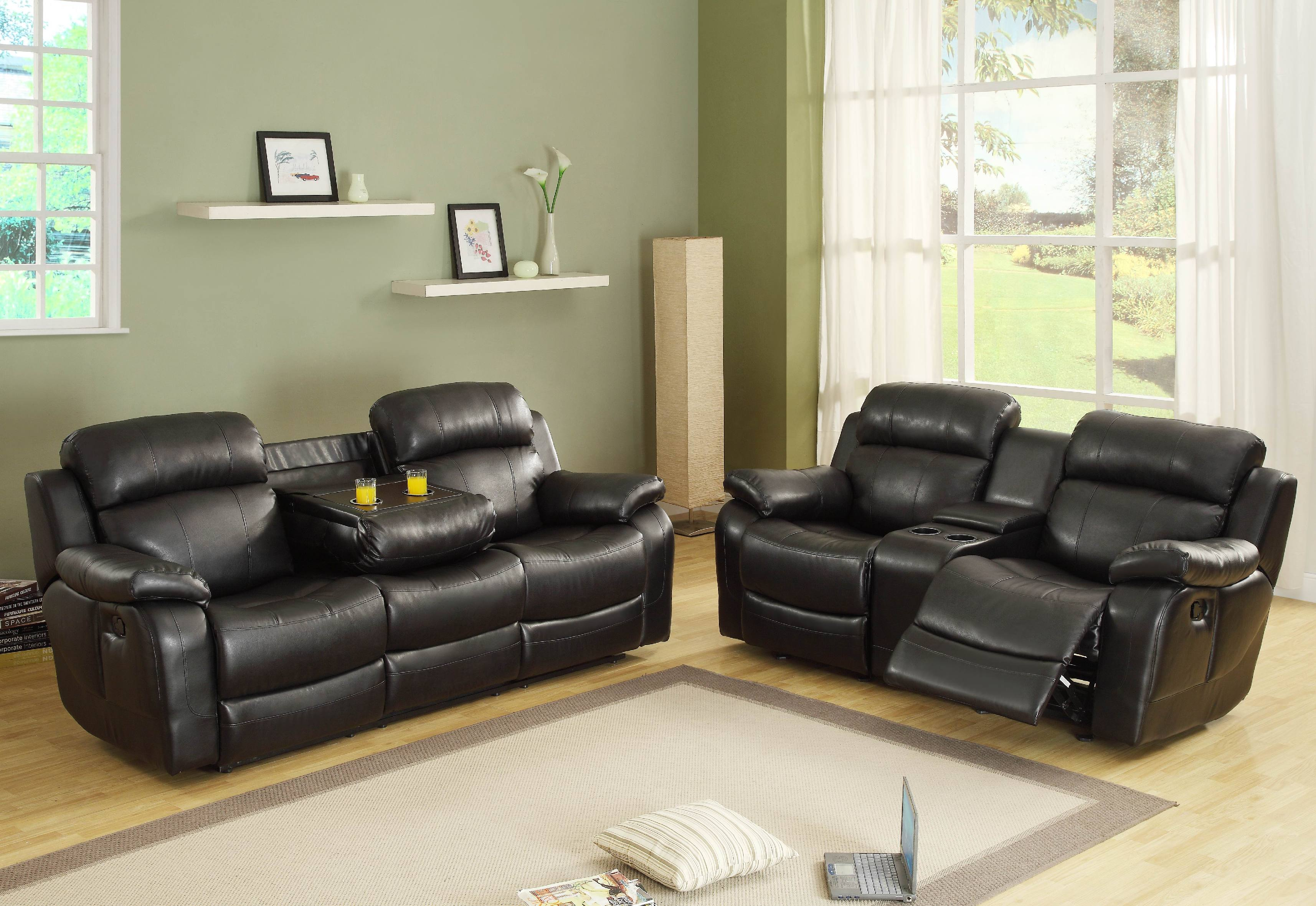 Center Hill Double Reclining Nailhead Sofa in Dark Brown Bonded Leather. $599.99 & Motion Reclining Leather Sofas | Marjen of Chicago | Chicago ... islam-shia.org