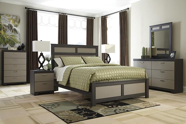 Wellatown Queen Panel Bed Marjen Of Chicago Chicago Discount Furniture