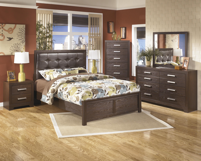bedroom set in replicated oak grain marjen of chicago chicago