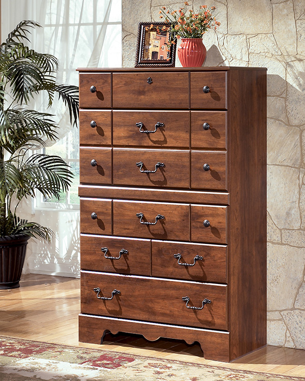 Timberline 4 Piece Poster Bedroom Set In Cherry Lowest Price Guaranteed Marjen Of Chicago