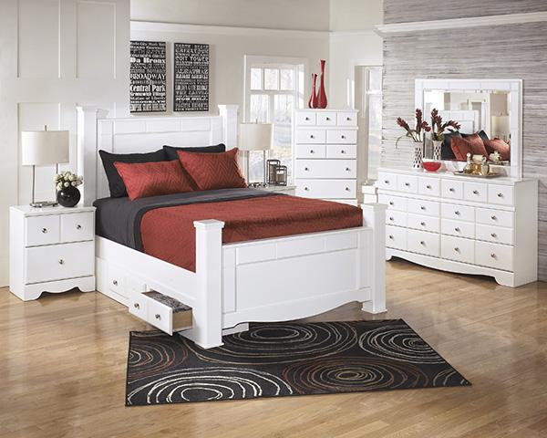 weeki modern white bedroom set special  marjen of chicago