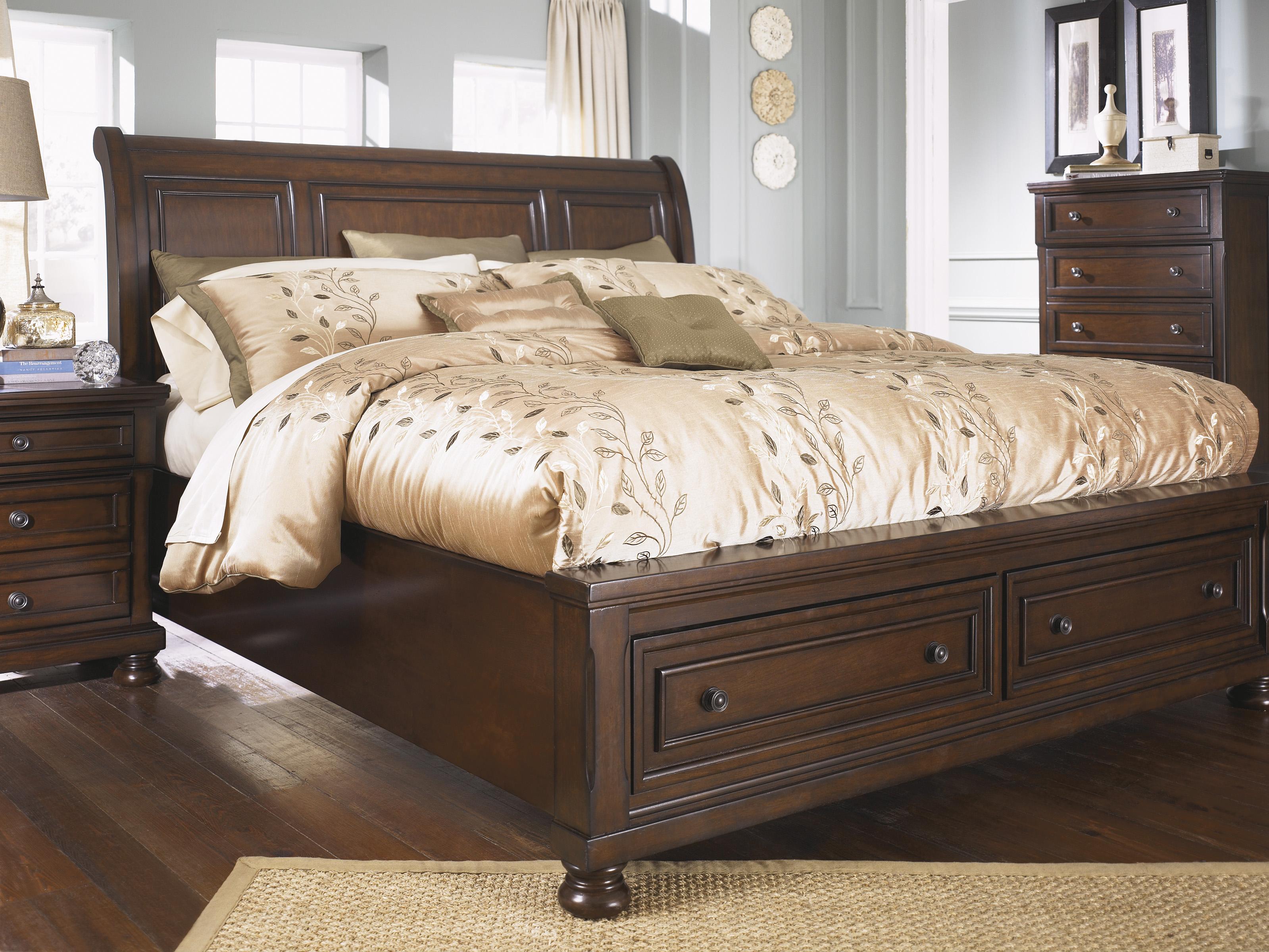 king sleigh bedroom sets. Porter 4 Piece Bedroom Set  Marjen of Chicago Discount