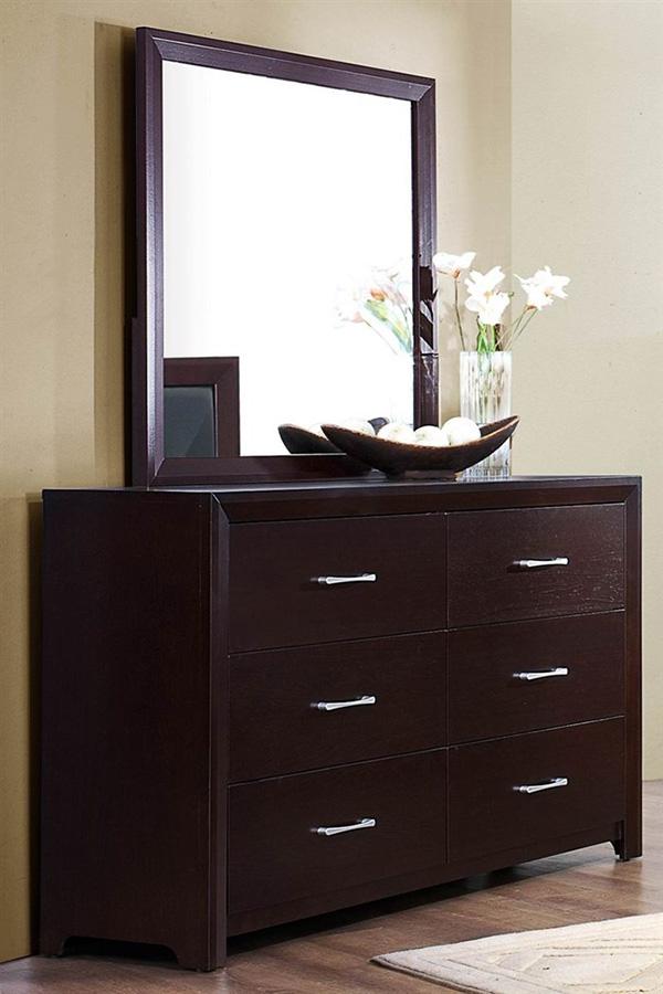 Homelegance Edina Collection Espresso Bedroom Set Marjen Of Chicago Chicago Discount Furniture