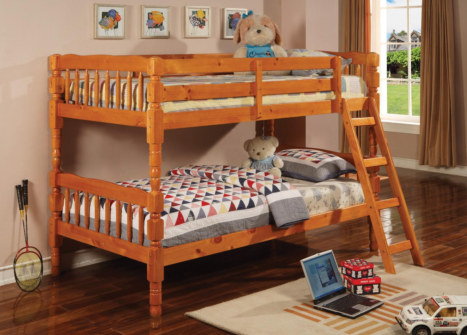 Twin Twin Bunk Bed Marjen Of Chicago Chicago Discount