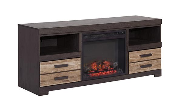 Harlinton Tv Stand W Led Fireplace Insert Option Marjen