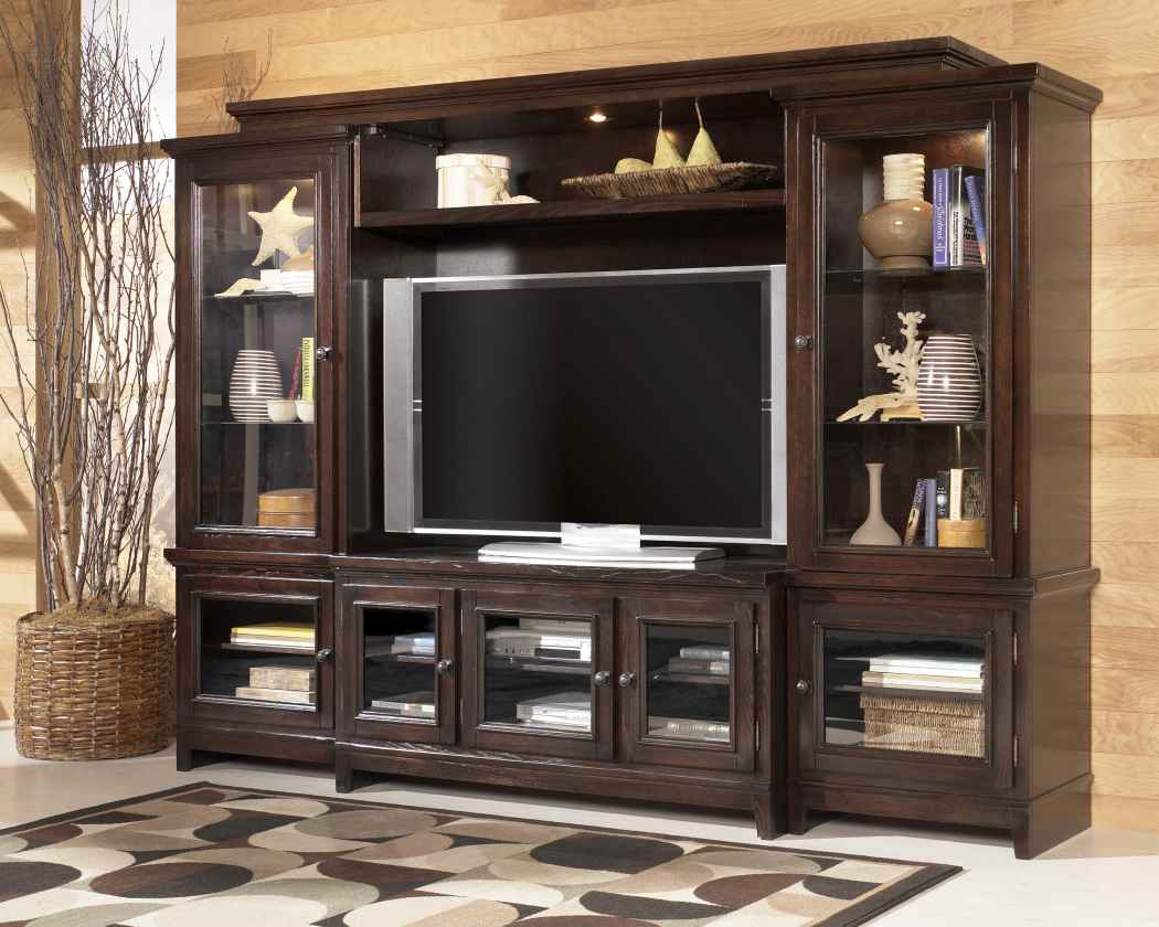 Ashley w 551 martini suite home entertainment wall - Discount living room furniture near me ...