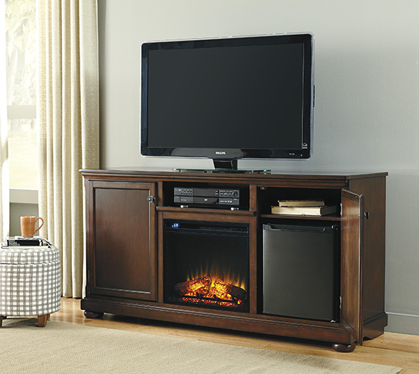 Signature Design By Ashley Porter Rustic Brown Extra Large Tv Stand