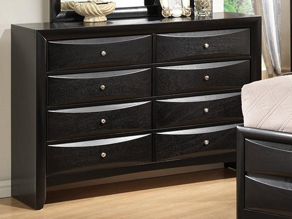 Briana Bedroom Set Constructed Of Hardwood Solids And Veneers Marjen Of Chicago Chicago