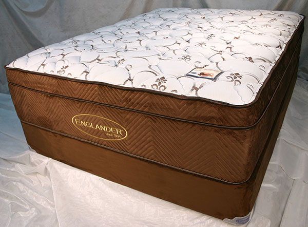 Tension Ease Geneseo Euro Pillow Top Queen Size 2 Pc