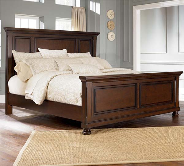 Ashley Wholesale Furniture: Ashley B697-54/57/96 Queen Panel Bed